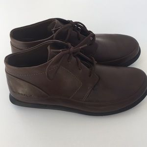 Merrell Shoes - Women's Merrel Brown Leather Lace Up Shoes